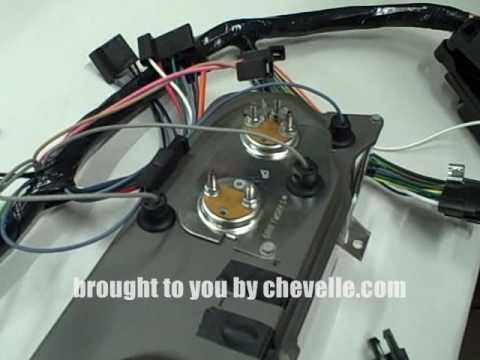 Techtip How to Install 1966-67 SS Gauges - YouTube