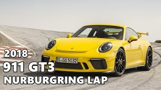 2018 Porsche 911 GT3 Nurburgring Record (Onboard Lap)