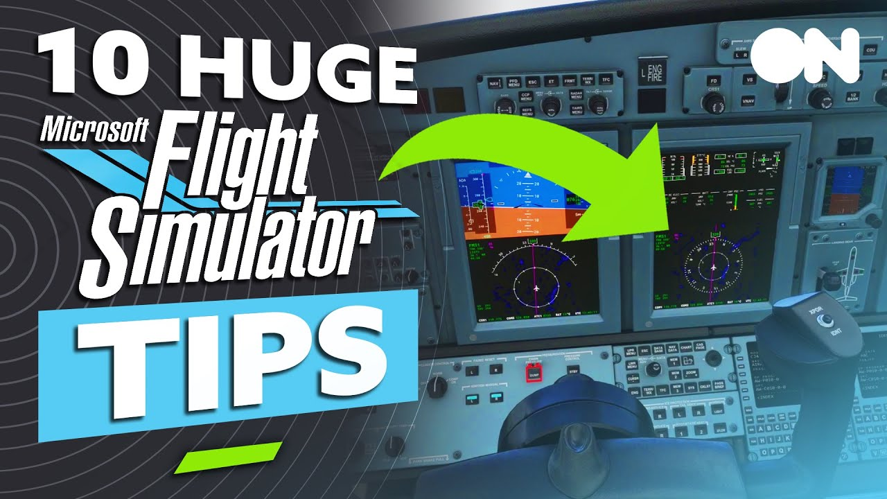 Top 10 TIPS For Beginners On Microsoft Flight Simulator + How To Get Started On Xbox!