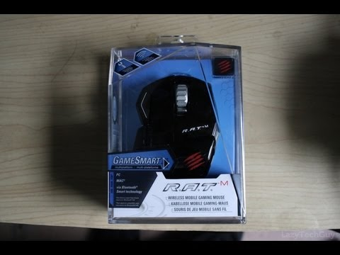 Giveaway: Mad Catz R.A.T. M Gaming Mouse
