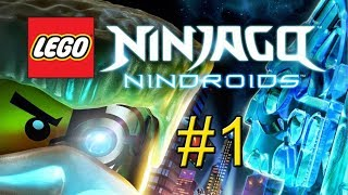 LEGO Ninjago Nindroids Video Game Walkthrough - Part 1: New Ninjago City
