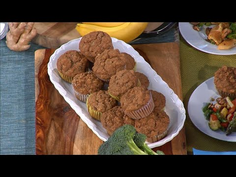 Spiced Banana Cardamom Morning Muffin Recipe