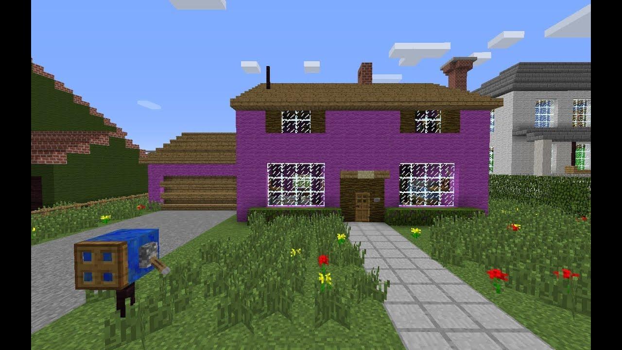 Minecraft evergreen terrace tour 2 part 1 youtube for Watch terrace house season 2