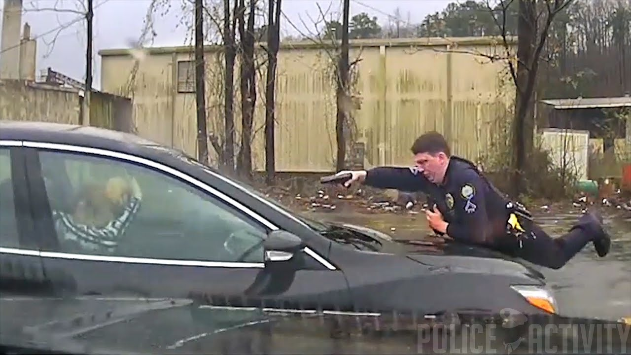 Dashcam Footage Shows Fatal Little Rock Police Shooting
