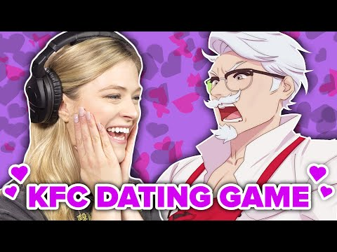 People Seduce Colonel Sanders In KFC Dating Simulator •Part 1