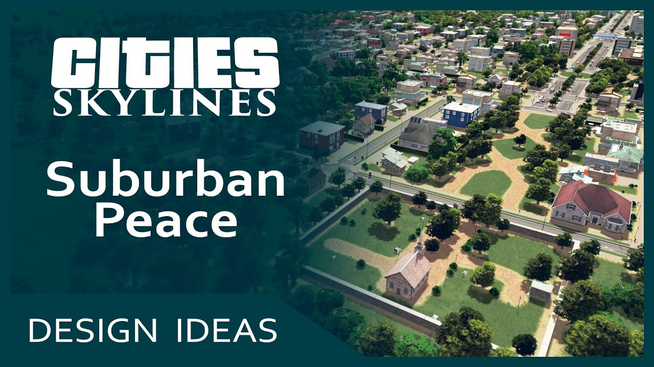 Free House Designs Cities Skylines Design Ideas Suburban Peace