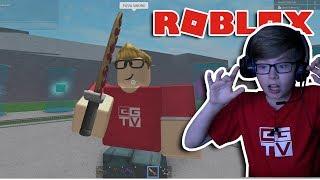 Ich habe EIN PIZZA SWORD! Roblox | Lucky Block Schlachtfelder