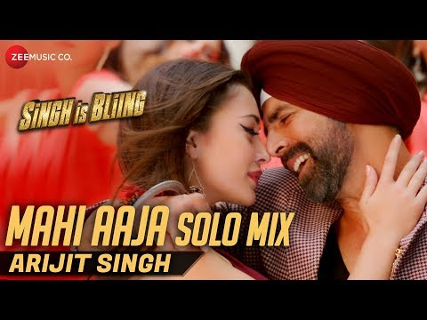 Mahi Aaja Solo Mix By Arijit Singh | Lyrical | Singh Is Bliing | Akshay Kumar & Amy Jackson