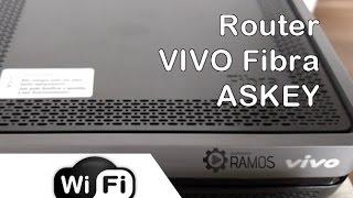 Como configurar o Roteador Vivo Fibra ASKEY RTF3505 - WI-FI | http://professorramos.com