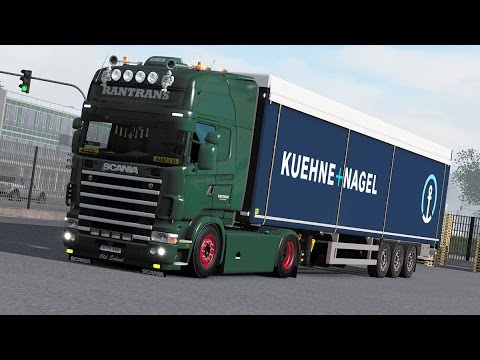 "ETS 2 - 1.27 ""Drumuri Europene"" Dresden(D) - Gorzow Wlkp(PL) ProMod 2.16 Scania R4"