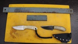 Messer Selber Bauen Aus Sägeblatt