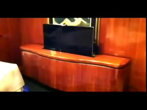 boat tv lift application by morphbotics