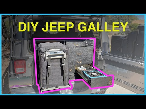 DIY Overlanding Galley For Our Jeep Rubicon