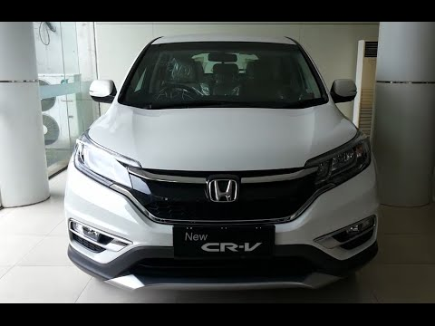 All New Honda Crv Facelift 2015 Price And Specification Youtube