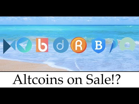 Current Best Altcoins on Sale Early 2018 Cryptocurrency With Room To Grow