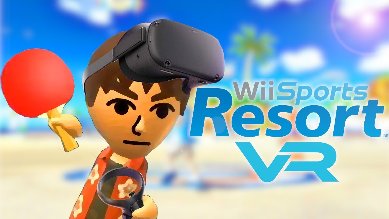 Wii Sports Resort in VR!