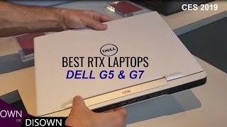 Best Value RTX laptops 2019 - Dell G5 and G7