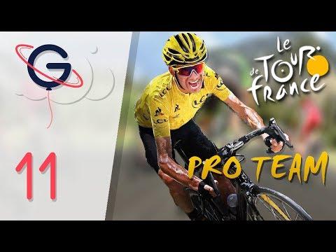 TOUR DE FRANCE 2017 - PRO TEAM FR #11 : Attaque de Rosa !