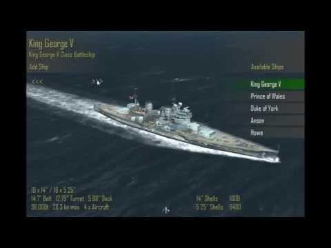 Atlantic Fleet - Player Ship Choices