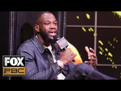 Deontay Wilder: 'I see a knockout, a dramatic knockout as always' | INSIDE PBC BOXING