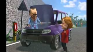 Мульт личности Берлускони, Меркель, Лавров и УАЗ Патриот