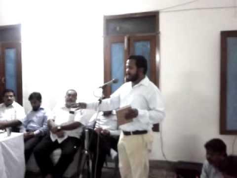 AMU Centre Bihar Movement Meeting on Sept 11, 2011 (Part 15)