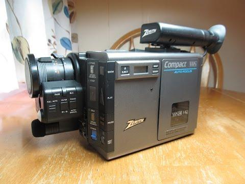 Zenith VM6200 (JVC GR-C7) VHS-C camcorder (1986), Part 1