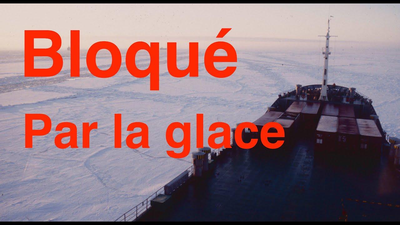 Bloqué par les glaces à bord d'un navire transportant de l'uranium 235