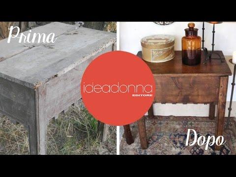 Come trasformare un vecchio mobiletto di casa doovi - Restauro mobili impiallacciati ...