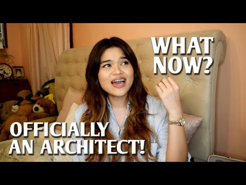 I'M OFFICIALLY AN ARCHITECT!! WHAT NOW??