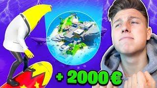 WER zuletzt THE SHARK verlässt bekommt 2000€ in Fortnite!