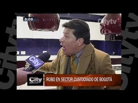 Robo en sector custodiado de Bogotá | Citytv| 1 de Diciembre