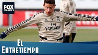 Ancelotti defendió a James tras la victoria: #ElEntreTiempo