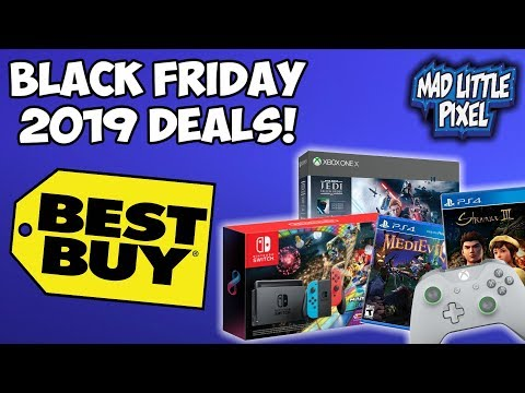 Best Buy 2019 Black Friday Deals! Miss Thanksgiving For Video Games?!