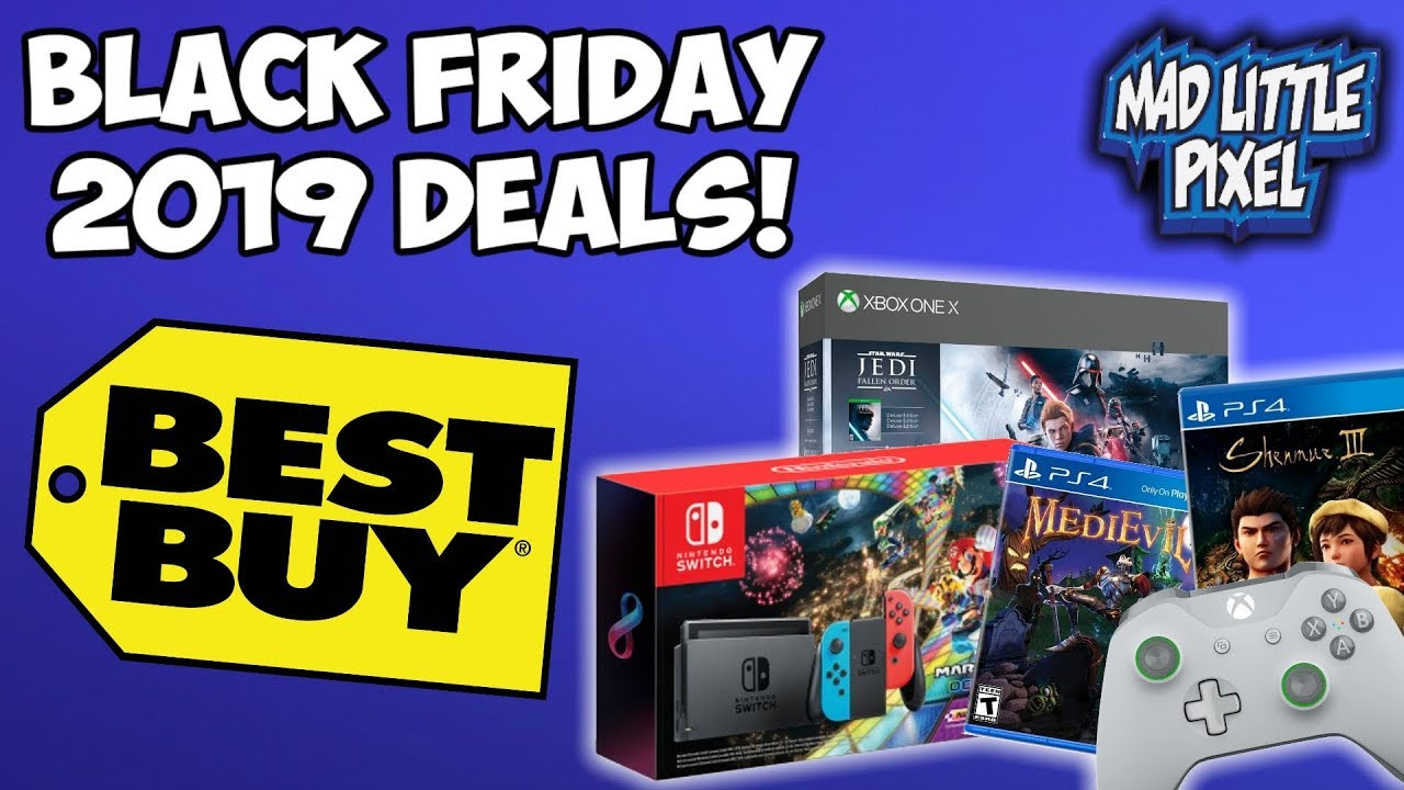 Best Buy 2019 Black Friday Deals Miss Thanksgiving For Video Games Youtube