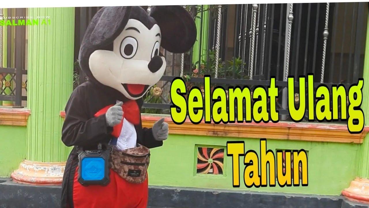 Mickey mouse joget ulang tahun / lagu selamat ulang rahun remix