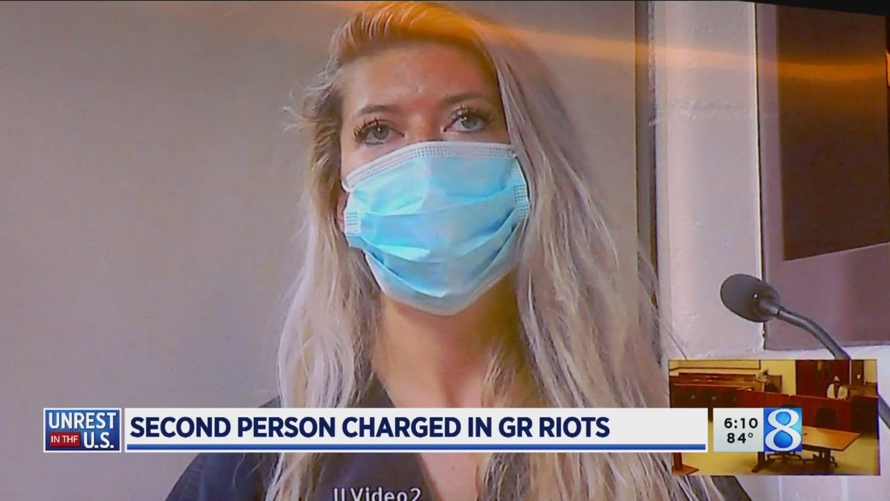 2nd person charged in downtown Grand Rapids riot