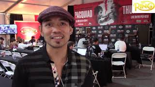 Nonito Donaire Gives His Prediction Who He Thinks Is Going To Win Pacquiao vs Thurman