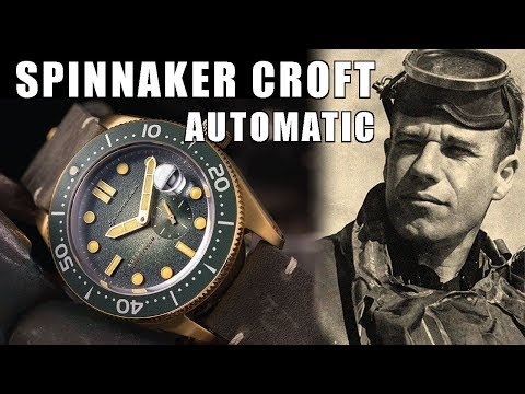 Spinnaker Croft Automatic Dive Watch Review (SP-5058-04) - Perth WAtch #120
