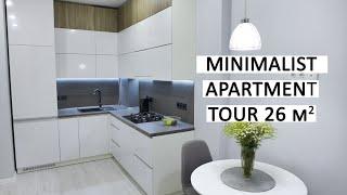 MINIMALIST APARTMENT TOUR 26 m2  (280 sqf)