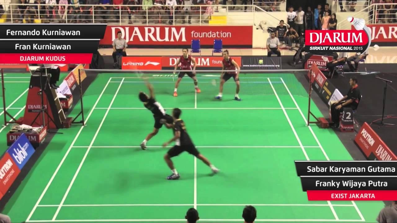 Indonesian Badminton National Circuit 2016: Rallies and ...