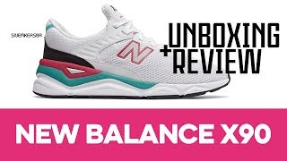 UNBOXING+REVIEW - New Balance X-90