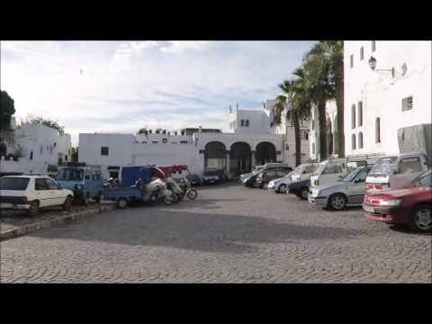 جولة في المدينة القديمة حي القصبة طنجة 02 12 2016  tangier morocco