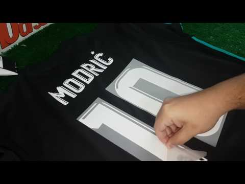 Dorsal REAL MADRID 2017 2018 AWAY (VISITANTE) MODRIC