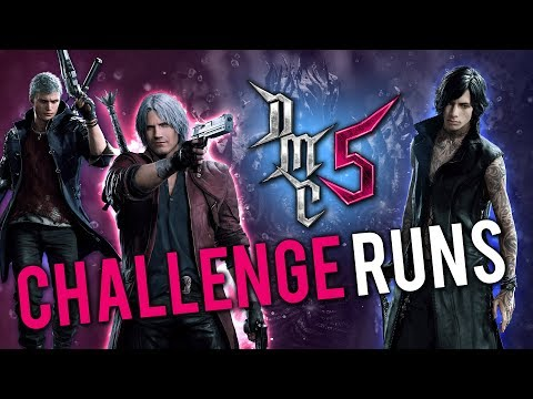 Devil May Cry 5 - Devil May Chill Stream - Challenge Runs? thumbnail