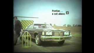 """1972 Pontiac Bonneville """"Bumper"""" Commercial"""