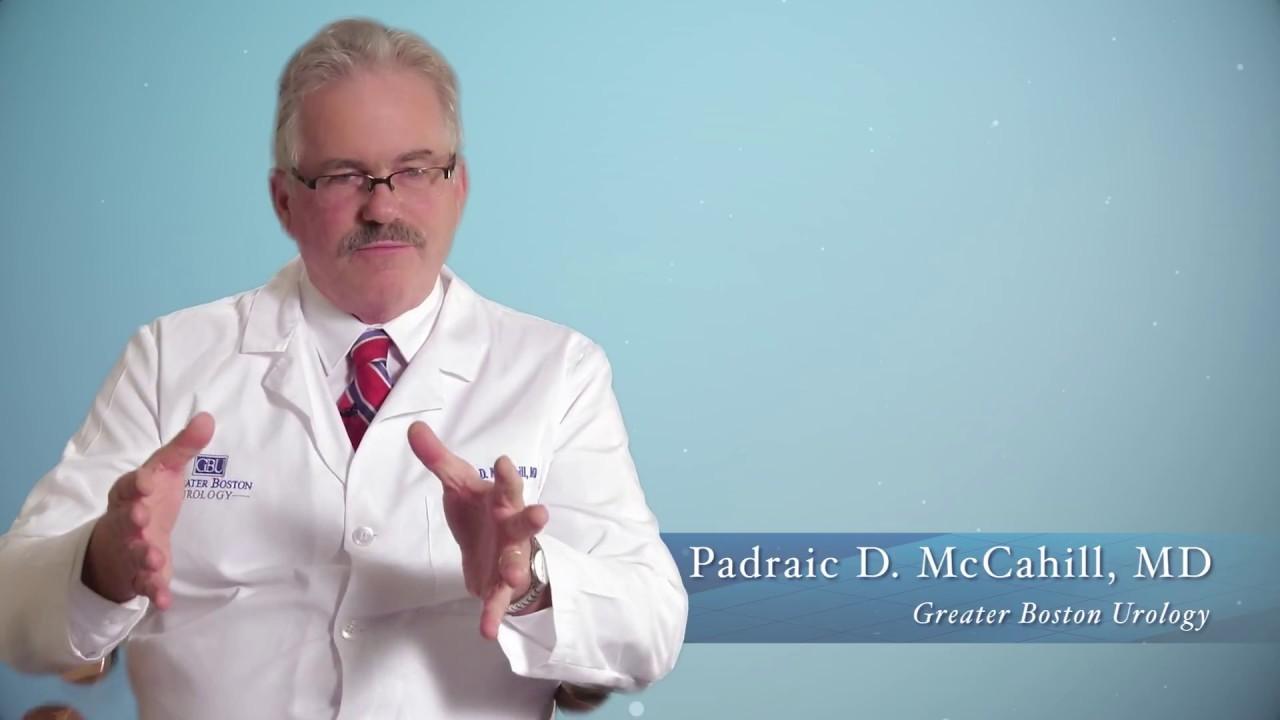 Padraic D  McCahill, M D  – Greater Boston Urology