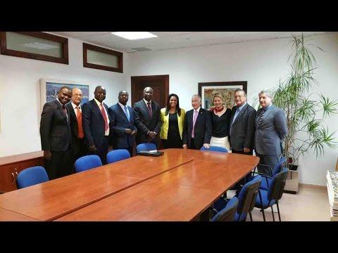 El alcalde recibe al embajador de Guinea Bissau en España