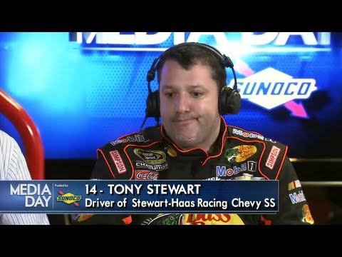 Tony Stewart being Tony Stewart - YouTube