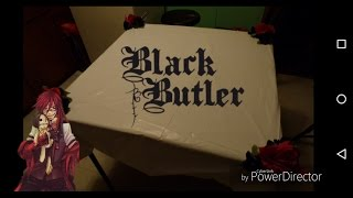 Black Butler Inspired DIY Table Cloth